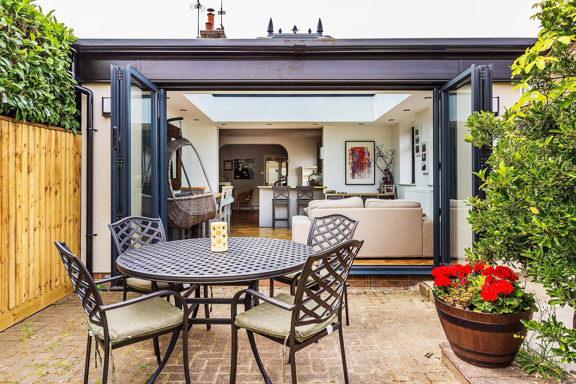 Bi Fold Doors in Garden