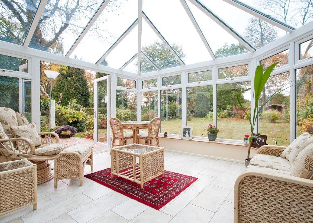 Glass Roof Conservatory planning permission