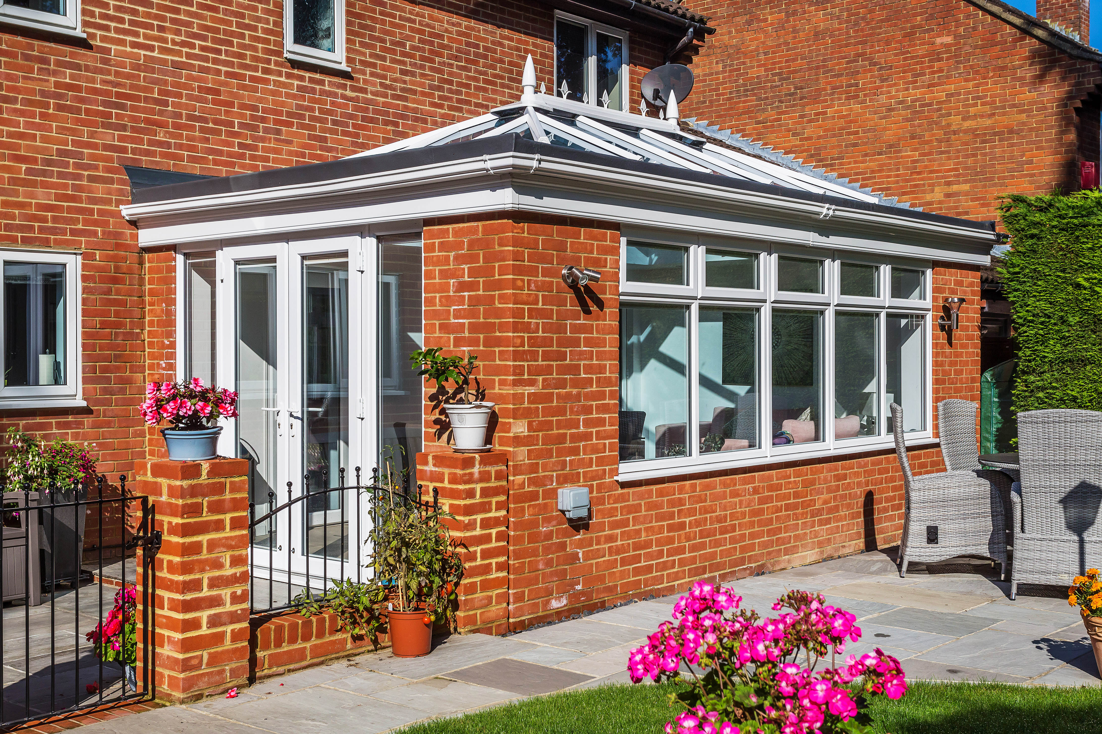 Small Brick Orangery Purley