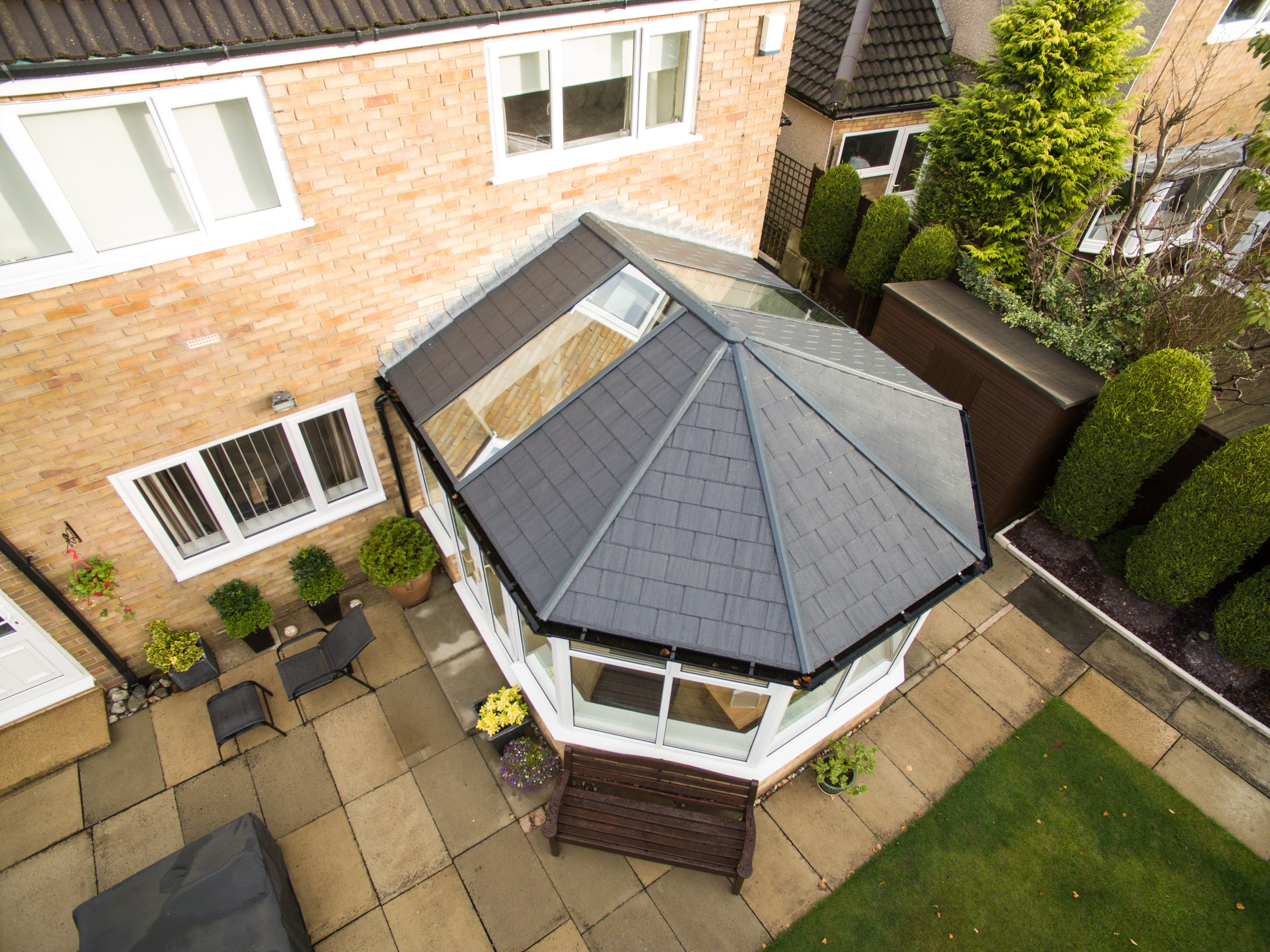 tiled conservatory roof sutton