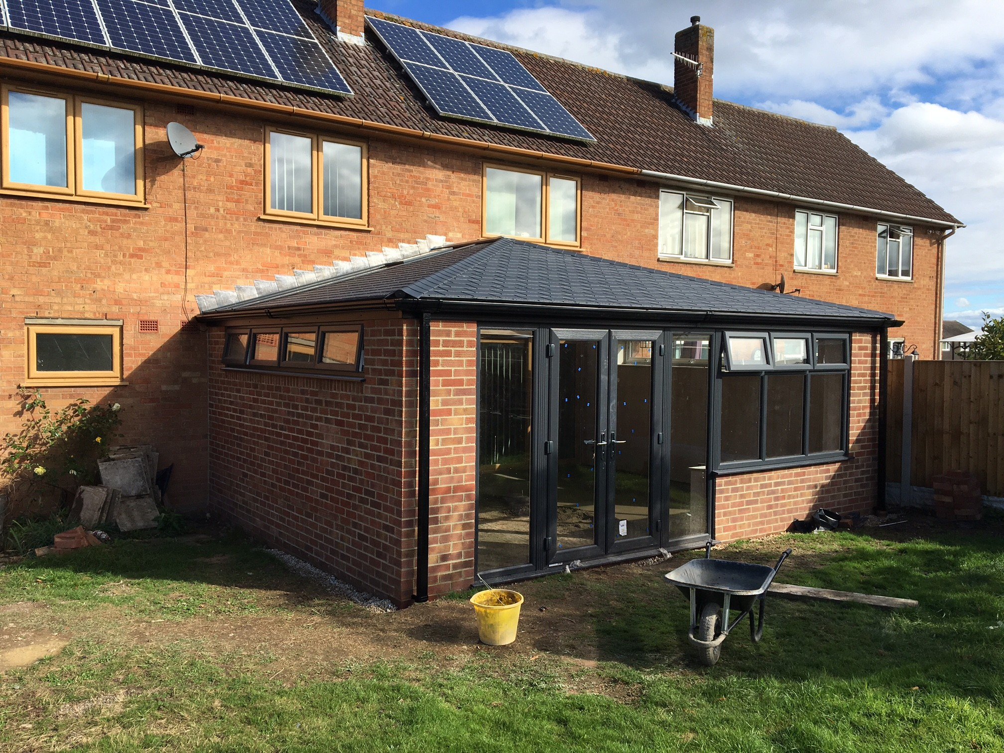 tiled conservatory roof sutton style