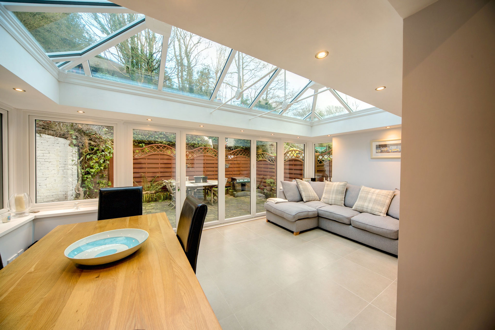 glass extensions costs sutton